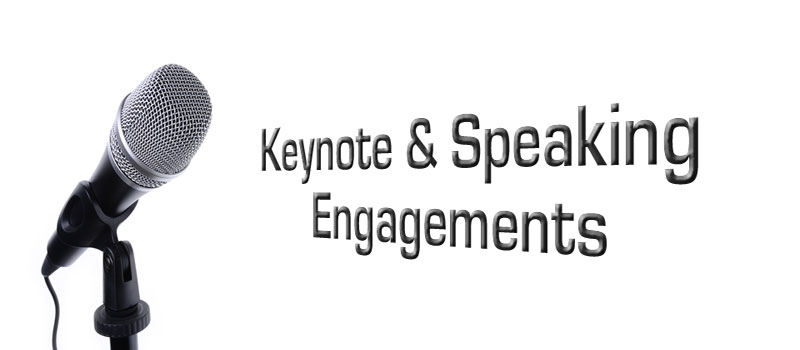 Keynote Speaking Engagements